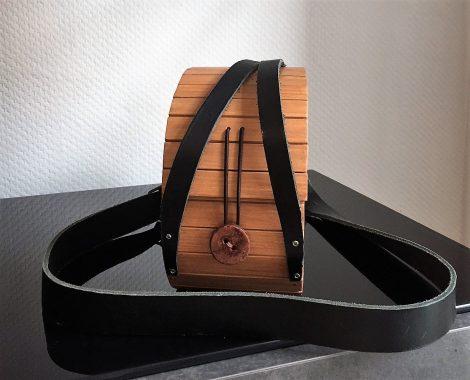 Holz Aktentasche originell